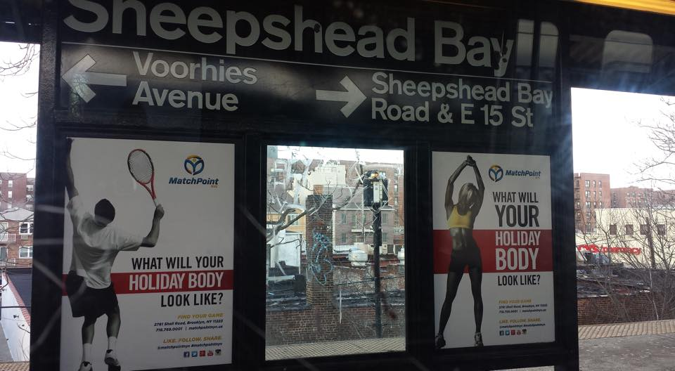 graphic design, advertising, outdoor, sheepshead bay