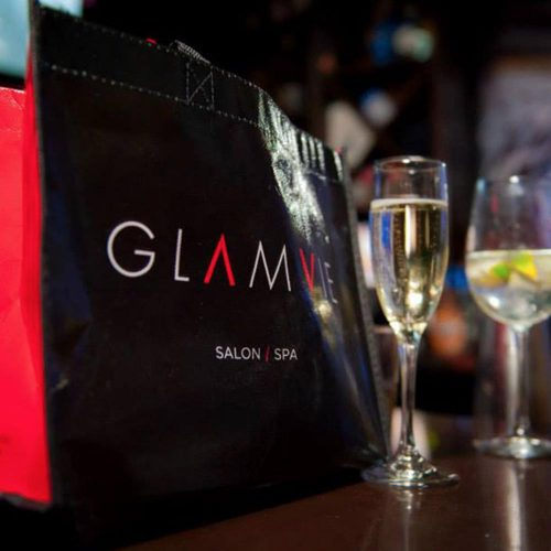 graphic design glamvie salon spa