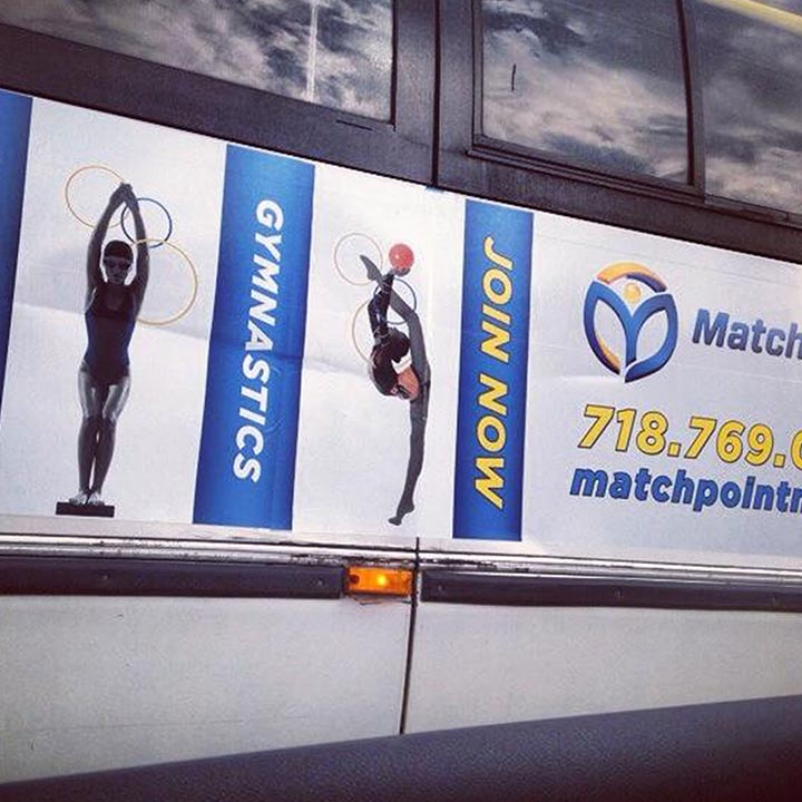 graphic design matchpoint outdoor advertising