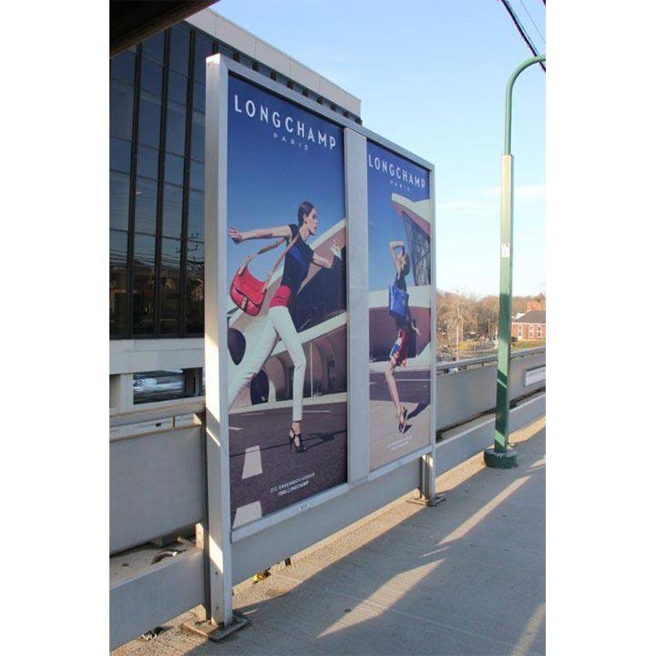 graphic design longchamp outdoor advertising
