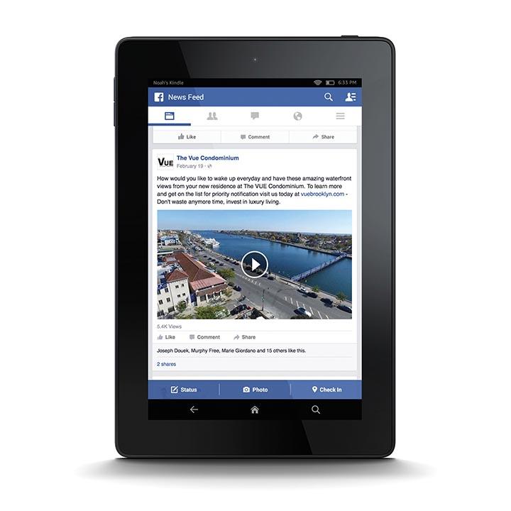 graphic design vue condo facebook ipad