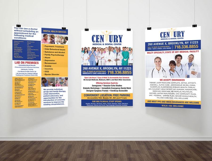 century poster graphic design