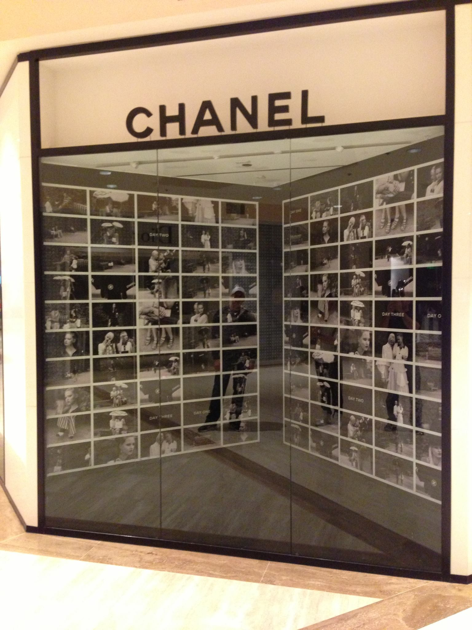 graphic design, chanel
