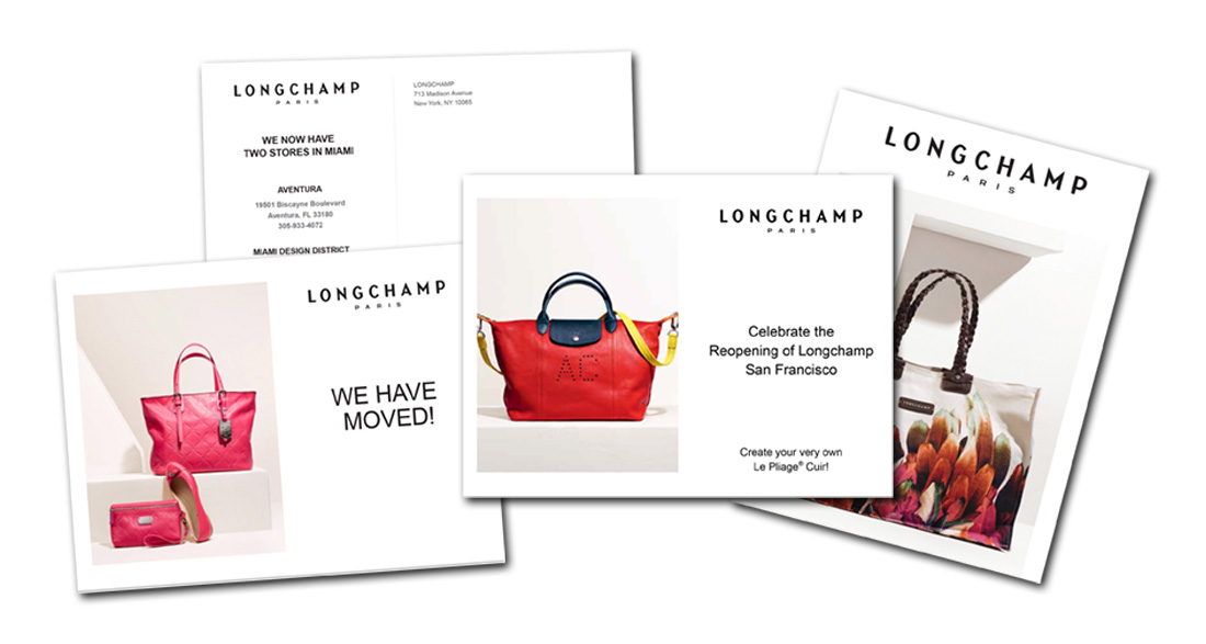 graphic design longchamp fashion