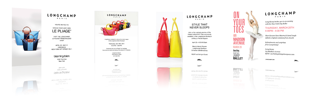 graphic design longchamp