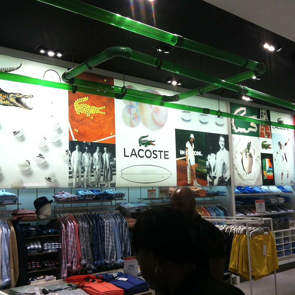 graphic design lacoste