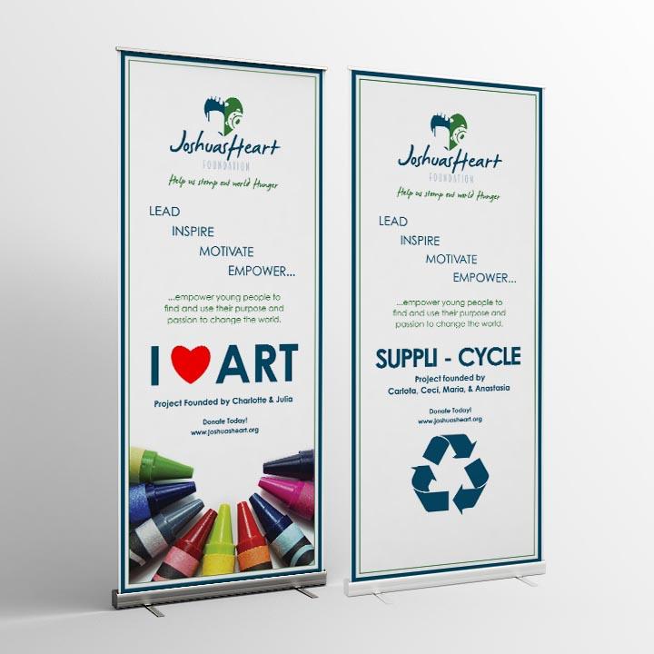 graphic design joshua's heart