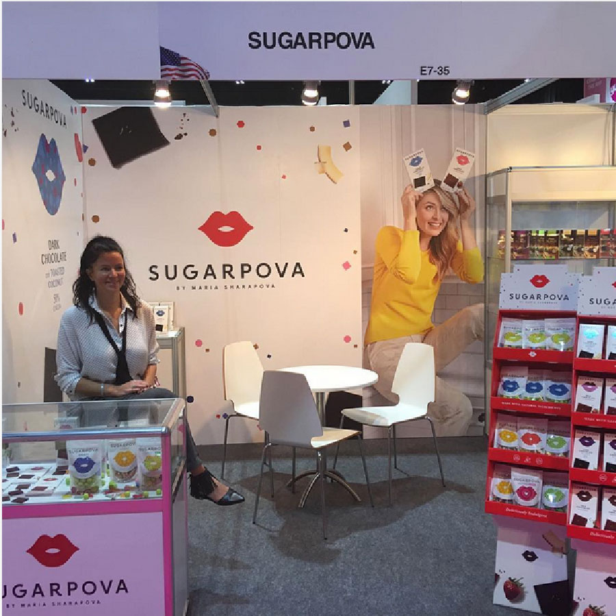 sugarpova candy graphic design pop up