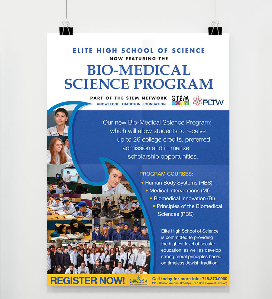 graphic design bio-medical science program